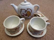 New Classic Winnie the Pooh Porcelain Mini Tea Set 6 Piece Midwest Cannon Falls