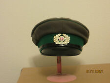 East German Border Guard Peaked Hat sz 59 (7 5/8)