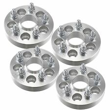 "4pcs 1"" Hubcentric Wheel Spacers 5x100 Scion xD tC Toyota Celica Corolla 25mm"
