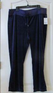Tek Gear Velour Bootcut Pants 5 color choices Women's Petite Sz PXXL NWT MSRP$30