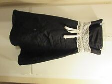 Urban Girl Nites Black Strapless Prom Formal Dress with Tulle Hem Size 9/10