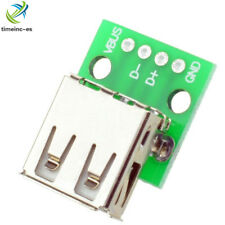 5PCS  Type A Female USB To DIP 2.54MM PCB Board Adapter Converter NEW