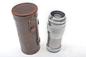 Steinheil 135mm f4.5 Culminar VL  Leica 135/4.5 LTM M39 Screw Mount Lens++BEAUTY
