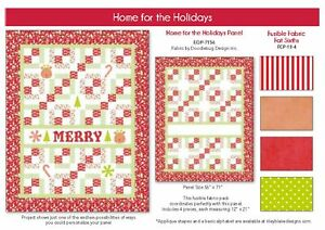 Home for the Holidays Quilt Panel Kit by Riley Blake