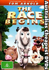 The Race Begins DVD NEW, FREE POSTAGE WITHIN AUSTRALIA REGION 4