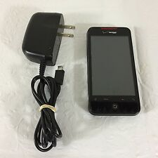 HTC Incredible Black Verizon for Parts or Repair Only Used Untested Power cord