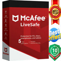 Mcafee Liveafe 2020 Antivirus 3 Pc ✅ 5 year ✅ instant Dεlivery📩
