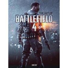 BATTLEFIELD 4 - The Art of Battlefield 4 Hard Cover Book (Titan Books) #NEW
