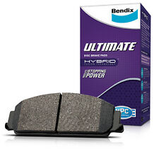 Bendix Front Ultimate Brake Pad Set 7599 ULT (PBR Caliper)