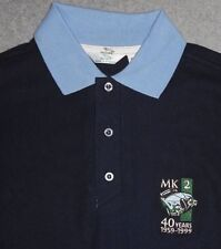Jaguar Mark 2 MK11 40 Years Anniversary Official Polo Shirt BNOS Made In England