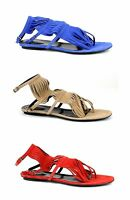 $585 New Authentic Gucci Becky Suede Fringe Gladiator Flat Thong Sandal 347285