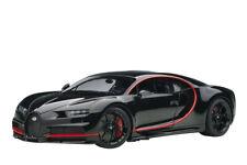 AUTOART 1/18 BUGATTI CHIRON 2017 NOCTURNE BLACK W 70991