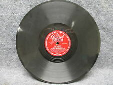 """78 RPM Record 10"""" Sonny Greer The Dukes Men Bug In A Rug Capitol Americana 48013"""