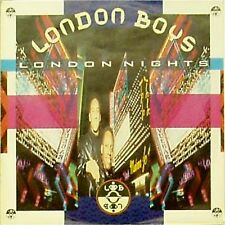"London Boys 'Londres noches's German Import Foto Manga 7"" SINGLE"