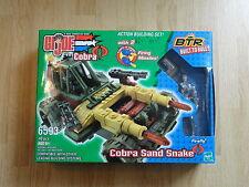 GI Joe BTR Built to Rule Cobra Sand Snake w/ FIREFLY Factory Sealed MISB LEGO