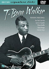 Learn T Bone Walker Blues Guitar Signature Licks DVD YOU DON'T LOVE ME SHUFFLE