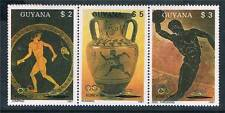 Guyana 1987 Summer Olympics 3v strip # 1854a MNH