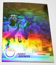 Dennis Rodman 1992-93 Upper Deck Hologram  REBOUNDS Basketball Card BV$$