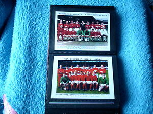 MANCHESTER UNITED FOOTBALL CLUB Photo Album (1960's)