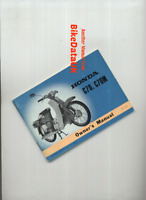 Honda 70 C70 C70M Cub (1972-1977) Genuine Owners Riders Manual Hand-Book CK11