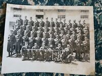 VINTAGE US ARMY Group of SOLDIERS 8X10 Real Photo Post TNG BRIG B5