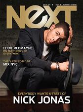 NeXT Mag Nick Jonas Soul Eddie Redmayne L Kudrow MIX NYC Safe SEXTING 2014 Gay