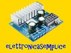 scheda modulo alimentazione step-up voltometro e amperometro 5A arduino (D220)