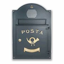 Frontale buca lettere 50A7/VRGH Alubox