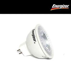 10 x Energizer LED GU5.3 4.8w 36° 3000K - Warm White Non-Dim (S8832)