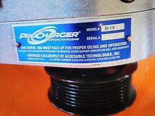 Pre Owned Procharger D-1X Extra Pulleys