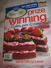 PILLSBURY BAKE-OFF PRIZE WINNING CAKES, PIES & MORE - 2012 Collector's Issue