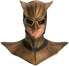 BRAND NEW Licensed Watchmen DELUXE ADULT LATEX NITE OWL MASK W/ COWL