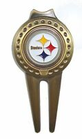 Pittsburgh Steelers Divot Tool with Golf Ball Marker