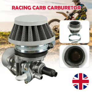 Carburetor Carb + Air Filter 47cc 49cc Mini Moto ATV Quad Dirt Bike UK Hot new