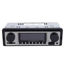 1X(Bluetooth Vintage Car Radio MP3 Player Stereo USB AUX Classic Car Stere Z6T7