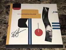 Eric Johnson Rare Signed Limited Edition Up Close Vinyl Record Jazz Guitar + COA