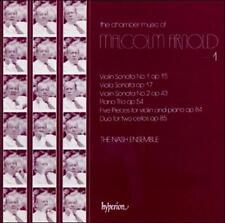 CHAMBER Music 1/NASH ENSEMBLE-Malcolm Arnold NEW SEALED UK CD 1988, Hyperion)