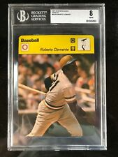 ROBERTO CLEMENTE 1979 Sportscaster Card #61-16A - BVG 8 NM-MT PITTSBURGH PIRATES