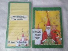 Mary Englebriet Journal and Shopping List, Santa & Reindeer Set, New