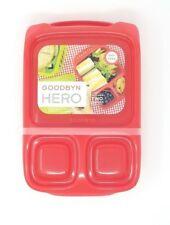 Godbyn Hero lunch box RED COLOR