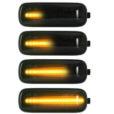 1996-2000 For Honda Civic Ballade Dynamic LED Side Marker Turn Signal Light 2pcs