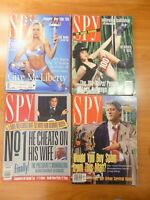 SPY Magazines Lot of 8 Issues from 1991, 92, 94, 95, 96