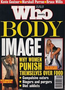 Who Weekly, June 5, 1995 - Very Rare Celebrity Magazine - Body Image Special