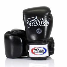 Fairtex BGV1 Black Universal Gloves Muay Thai Sparring Kick Boxing Training