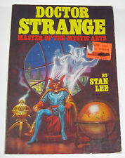 DR. STRANGE MASTER OF MYSTIC ARTS BY STAN LEE (1979, MARVEL, FIRESIDE BOOK) -GD