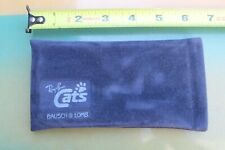 Ray Ban Sunglasses Bausch & Lomb CATS Blue Made In Italy OG Suede Vintage CASE