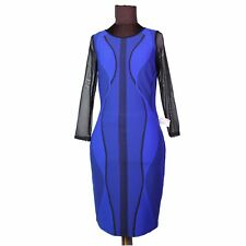 Frank Lyman Damen Kleid Kleider Röcke strech gemustert D 36 UK 10 I 42 F 38 US 8