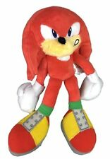 Plush Toy - Sonic the Hedgehog - Modern Knuckles - 8 Inch - Angry