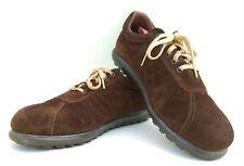 Camper Brown Suede Leather Shoes Pelotas US 8.5 EUR 41C UK 7.5  Bama