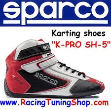 SCARPE KART SPARCO K-PRO SH-5 SIZE EUR 48 - KARTING SHOES red  SPARCO KARTING